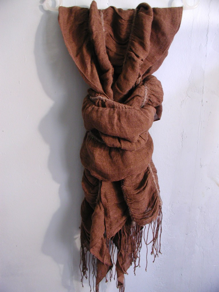 Scarves, handmade by Janis Rozentals