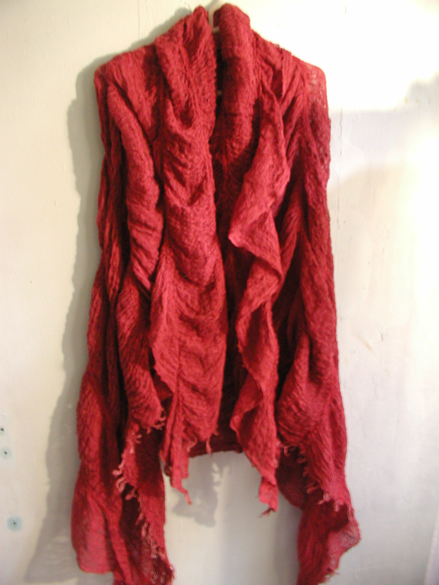 scarves handmade by janis rozentals weavedesign