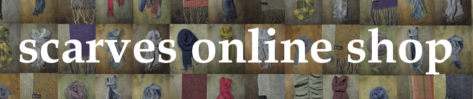Buy designed handwoven scarves in our online shop! Find out more in weavedesign.eu!